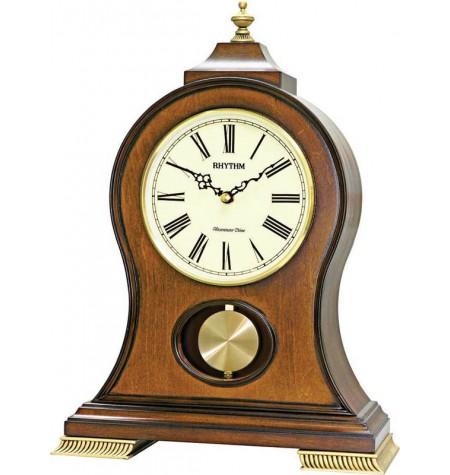 Hracie stolové hodiny – drevené