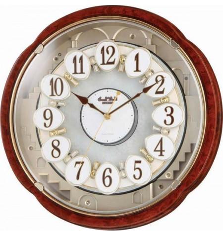 Magické hodiny – drevené