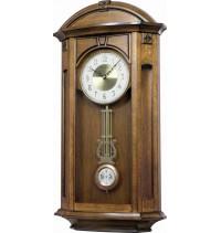 Hracie nástenné hodiny drevené