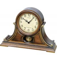 Hracie stolové hodiny drevené