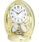 Stolové hodiny s rotačným kyvadlom 4SG768WR18
