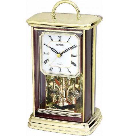 Stolové hodiny s rotačným kyvadlom 4SG771WT06